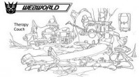 Transformers News: Ark Addendum: Webworld (part 5) and a special milestone
