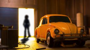 Stop Motion Clip of Transformers Movie Masterpiece MPM-7 Volkswagen Bumblebee