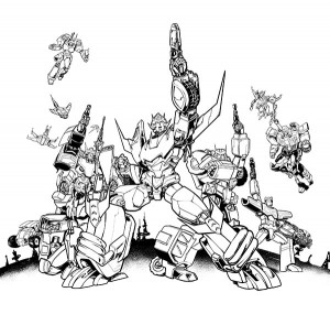 Transformers News: RIPT exclusive Lost Light cover lineart revealed & Pre-Orders now available!