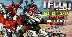 Transformers News: Michael Bell Joins TFcon USA's Guest Line-Up for 2019