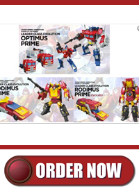 Transformers News: The Chosen Prime Newsletter for January 12, 2018
