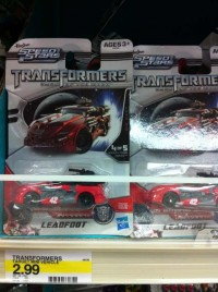 Transformers News: Transformers DOTM Speed Stars Leadfoot Sighted at Retail