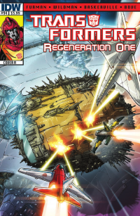 Transformers News: Transformers: Regeneration One #94 Preview