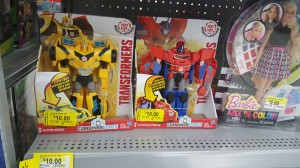 Robots in Disguise Minicons On Sale at Walmart, 5 Below; Combiner Force 3-Steps Found at Retail