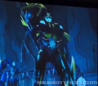 Transformers News: SDCC 2013 Coverage: Transformers Prime Bumblebee Speaks!