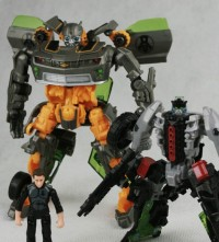 Transformers News: New Auction Listings for Human Alliance / Deluxe Repaint Sets