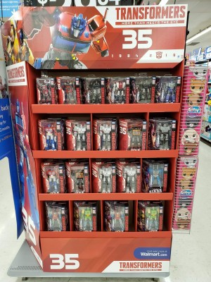 New 35th Anniversary Siege Figures Showcased in New Displays at Walmarts in the US