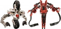 Transformers News: Official Images of Takara Shanghai Attack 'White' Demolishor and Desert Combat 'Red' Rampage