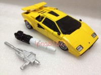 Transformers News: In-Hand Images: Takara Tomy Transformers Masterpiece MP-12T Tigertrack