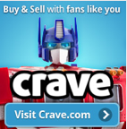 Transformers News: Crave News 07-14-2011: New Listings, Badges, and Savings in July!