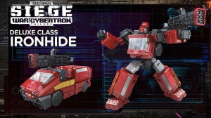 Transformers News: Transformers: SIEGE Wave 2 Deluxe Autobot Ironhide Video Review!
