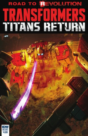 Transformers News: IDW Titans Return Full Preview