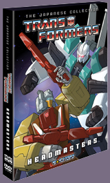 Transformers Japanese Collection-Headmasters Press Release