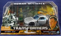 Transformers News: In-Package Images of Human Alliance Jazz with Captain Lennox