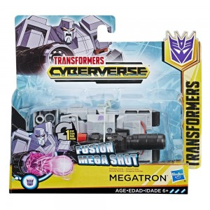Transformers News: Transformers Cyberverse Action Attackers One-Step Megatron Review