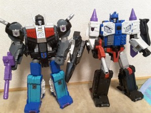Comparison Images for Transformers Titans Return Overlord and Sky Shadow