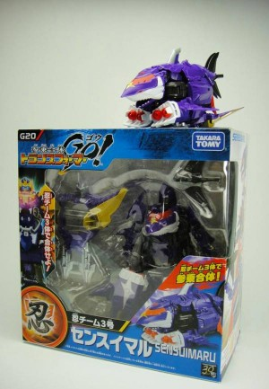 Transformers News: In-Hand Images Takara Tomy Transformers Go! G20 Sensuimaru