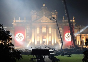 Transformers News: Churchill home transformed into Nazi Base for Transformers 5: The Last Knight
