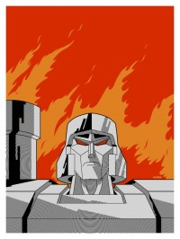 Transformers News: New Megatron Print by Matt Ferguson