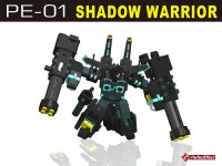 Transformers News: PE-01 Shadow Warrior Alt Mode Revealed