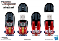 Transformers News: G.I. JOE and TRANSFORMERS Mimobots at SDCC