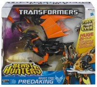 Transformers News: Updated Official Images: Transformers Prime Beast Hunters Beast Fire Predaking