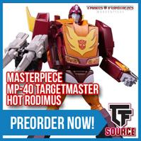 Transformers News: TFSource News! MAS-02 Megatron, FH Flypro, Takara MPM-03 Bumblebee, FT Grinder Recolors & More!