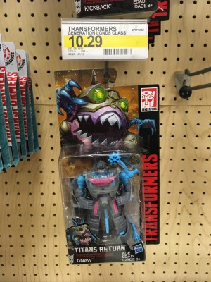 New Sightings of Titans Return Wave 3 Legends Class Gnaw, Bumblebee and Kickback