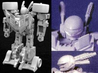 Transformers News: Unused Transformers Energon Prowl Prototype Head