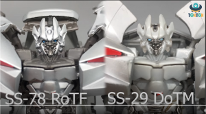 Video review of Studio Series SS-78 RotF Sideswipe