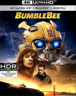 Bumblebee 4K, Blu-Ray and DVD up for Pre-Orders on Amazon