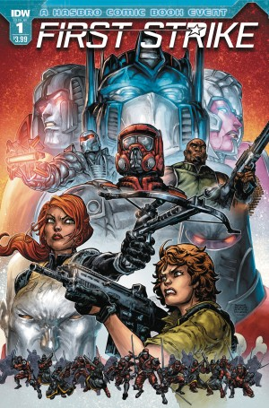 IDW Hasbro Universe First Strike - Interview with Writers Mairghread Scott & David Rodriguez