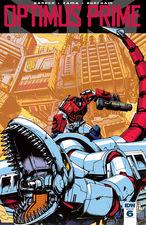 Sneak Peek - IDW Optimus Prime #6