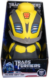 Transformers News: Transformers DOTM Medium Plush Bumblebee