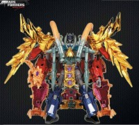 Transformers News: Official Images: Transformers Prime CNY Optimus Prime and Gaia Unicron Combo Pack