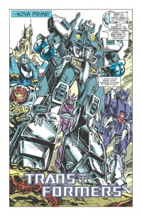 Transformers News: Transformers: Robots in Disguise Annual 2012 Creator Commentary
