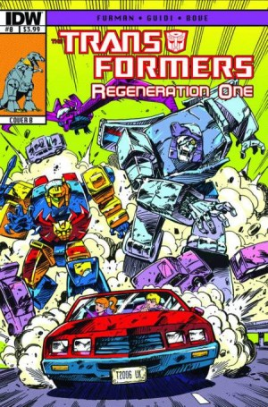 Transformers News: ReGeneration One #0 Script (W)Rap