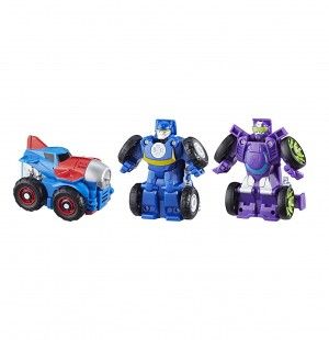 Stock Images for Transformers: Rescue Bots Griffin Rock Extreme Team with Jet Truck Optimus