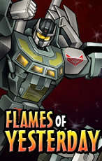 Transformers News: Transformers Collectors' Club Prose story: Flames of Yesterday
