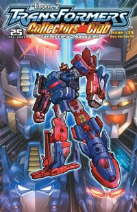 Transformers News: Transformers Collectors' Club Magazine #30 Cover