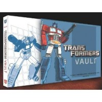 Transformers News: Transformers Vault slipcase and cover art revealed