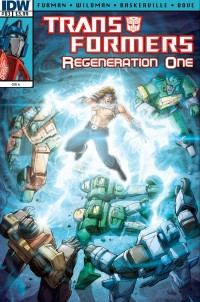 Transformers News: Transformers: Regeneration One #83 Preview