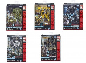 Transformers News: First Exclusive Takara Studio Series Figure Revealed + In Package Images of Wave 5 Deluxes