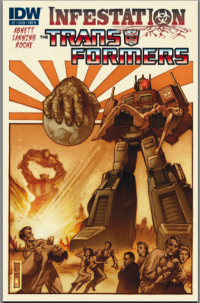 Review of IDW's Transformers: Infestation #1