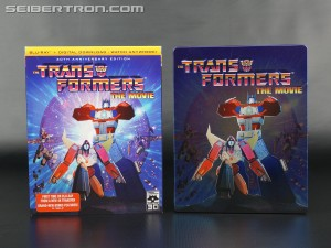 In-Hand images of Transformers The Movie 30th Anniversary Blu-Ray sets from Shout! Factory