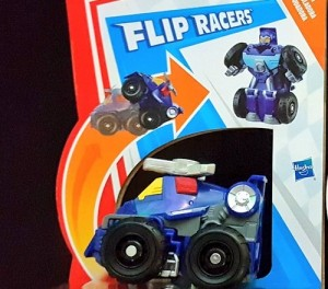 Rescue Bots Academy Flip Racers Whirl Shows Up at Retail Unannounced