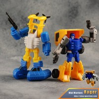 Transformers News: iGear MW-01 Spray & MW-02 Rager Video Reviews