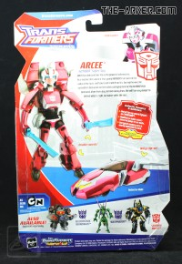 Transformers News: First Look at Packaging of Animated Cybertron Mode Autobot Ratchet and Arcee *TRU Exclusive*