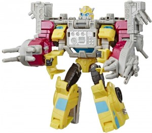 Final Product Stock Images for Transformers Cyberverse Spark Armor Starscream, Bumblebee and Prime