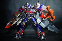 Transformers News: In-Hand Images: Sci-Fi Revoltech Series No. 040 Optimus Prime DX